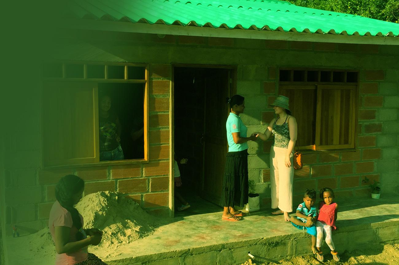 Donación vivienda interés social o prioritario Colombia