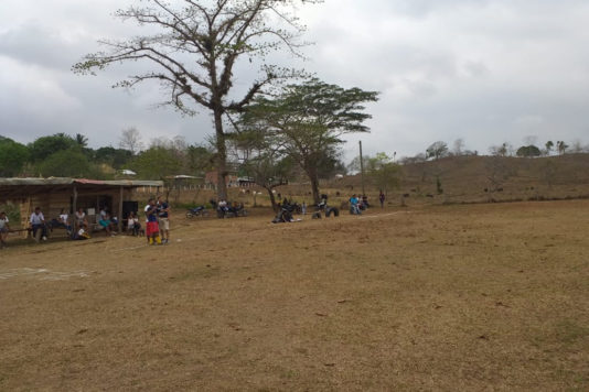 Cancha de fútbol Necoclí Antioquia