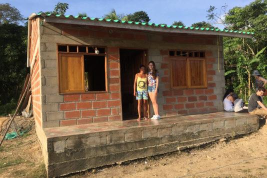 Centro de Reconciliación de la Comunidad de la Vereda Casablanca en Necoclí - Antioquia.